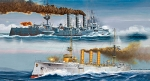 German WWI Light Cruisers SMS Dresden & SMS Emden, Revell 05500, M 1:350