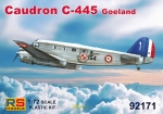 "Caudron C-445 Goeland ""French Service"", RS Models, 1:72, (92171)"
