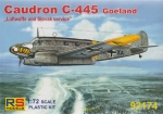 "Caudron C-445 Goeland ""Luftwaffe and Slovak Service"", RS Models, 1:72, (92174)"