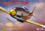 Ki-61 I Otsu, 1:72, RS Models 92179