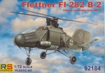 Flettner Fl 282 B-2, RS Models 92184, 1:72 German WW II Helicopter