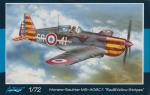 "Morane-Saulnier MS-406C.1 ""Red & Yellow Stripes"" - Azur A114 1:72"